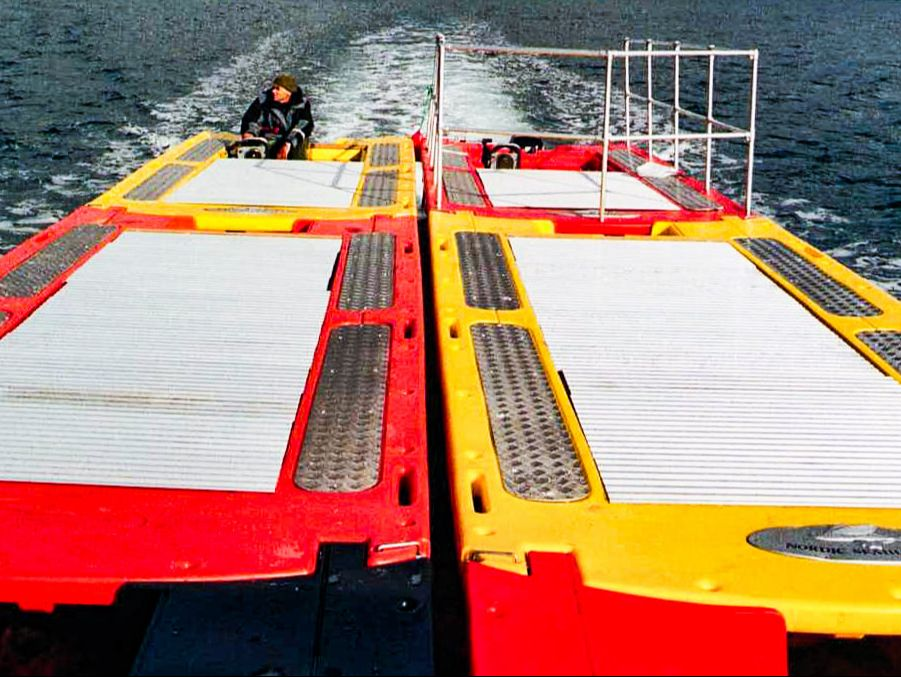 Nordic Seahunter Arbeidsbåt Sammenkoblet