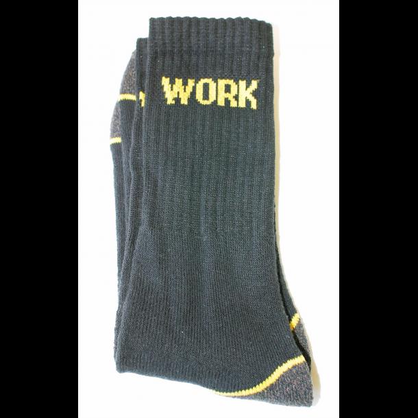 Arbeidssokker - Work - 3 pk