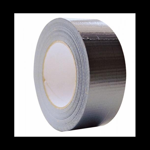 Lerretstape / Duct Tape - Sølv 50mm