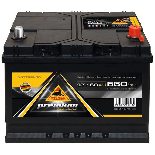 Panther Batteri 68 Ah-
