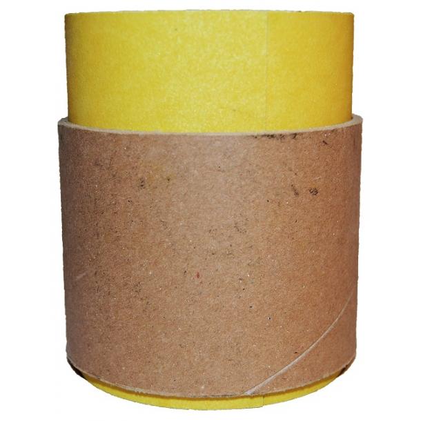Sandpapir på rull - Gul