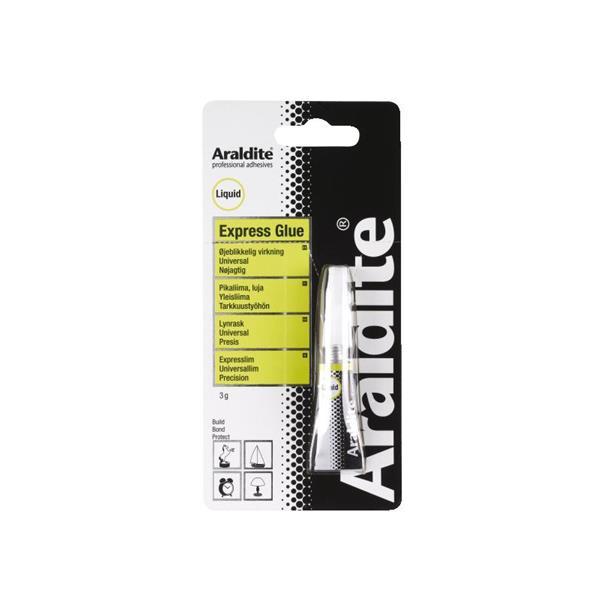 Araldite- Superlim hurtigvirkende 3g.