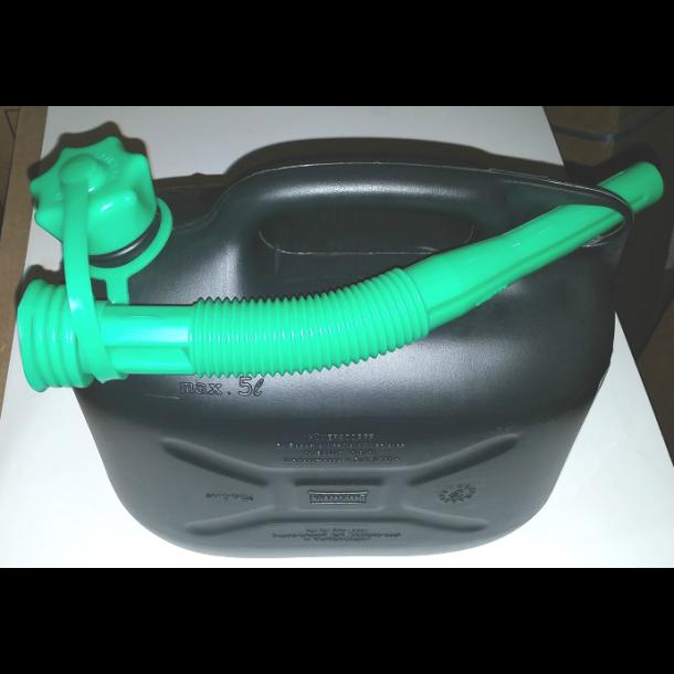Bensinkanne i Plast - 5 Liter