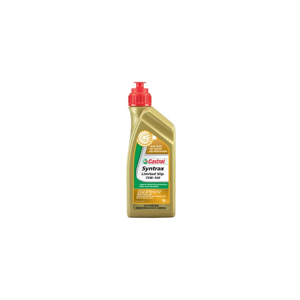 Castrol Syntrax Limited Slip - 75W-140 - 1 Liter