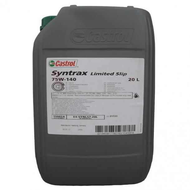 Castrol Syntrax Limited Slip - 75W-140 - 20 Liter