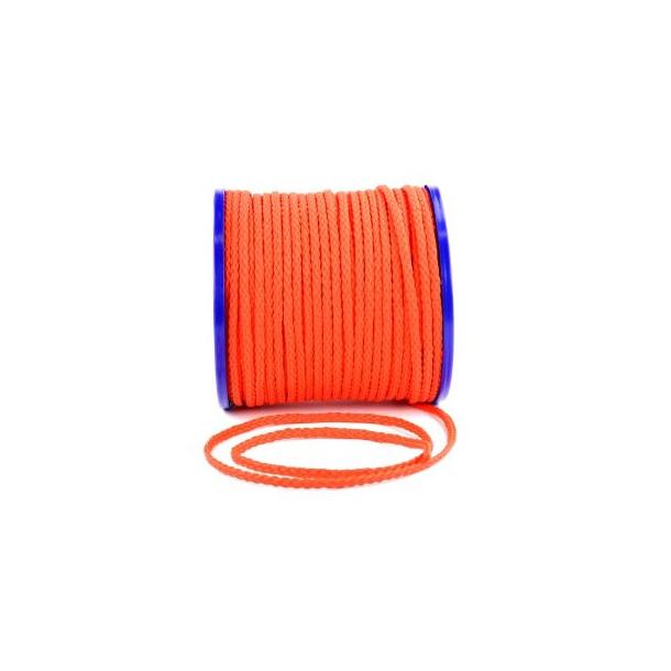 3-slått Polyethylene Monofilament - Orange